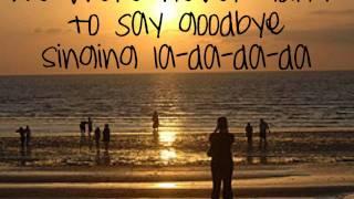 Simple Plan ft. K'naan - Summer Paradise - Lyrics HD