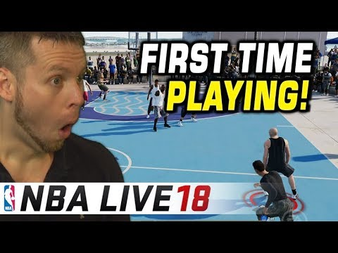 PLAYING NBA LIVE 18 FOR THE FIRST TIME! IS IT TRASH? (видео)