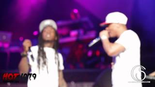 "Kelly Rowland Brings Lil Wayne and performs ""Motivation"" Out Birthday Bash 17 2012"