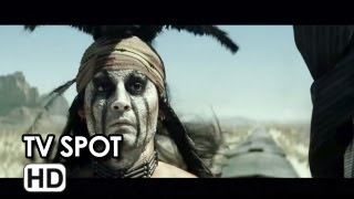 The Lone Ranger TV Spot (2013) - Johnny Depp, Armie Hammer