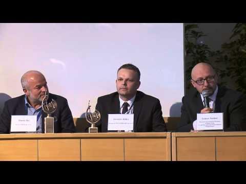 Konferencja prasowa konkursu Innovator Małopolski 2012
