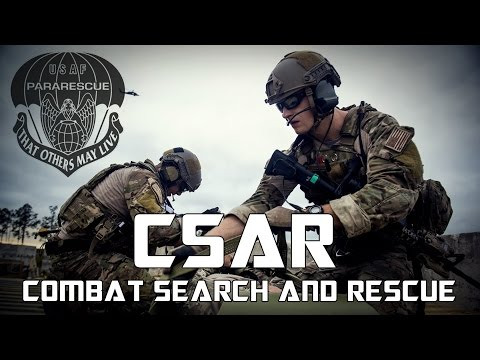 "Never Look Down On A Medic | Csar - Combat Search And Rescue | ""that Others May Live"""