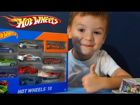 Машинки Хот Вилс видео на русском. Игрушки Hot Wheels. Парковка Хот Вилс. Игрушки Машины