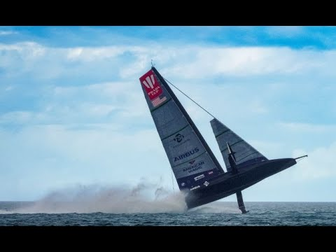 American Magic AC75 Capsize! Full story+aftermath of Prada Cup Day 3. America's Cup.
