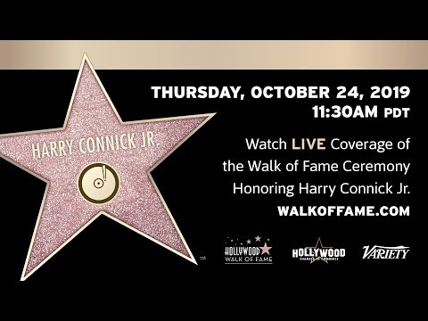 Harry Connick, Jr. Walk of Fame Ceremony