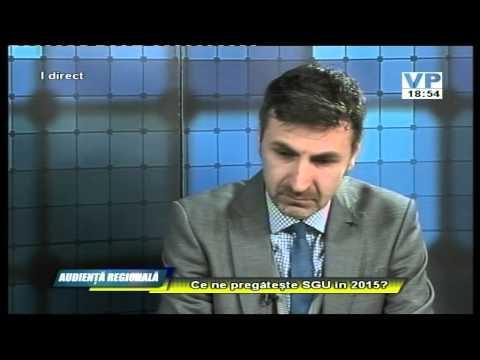 Emisiunea Audiență regională – Donald Constantin – 17 februarie 2015