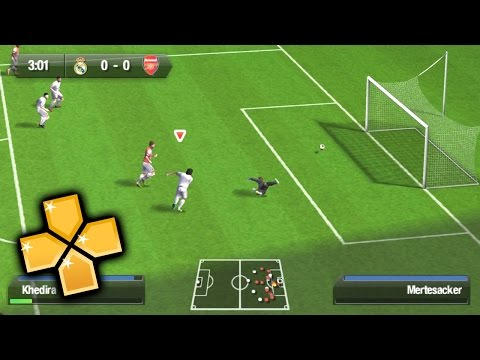 FIFA 14 PPSSPP Gameplay Full HD / 60FPS