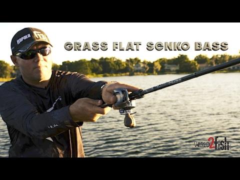 2-Pronged Senko System for Grass Flat Bass_A héten feltöltött legjobb horgász videók
