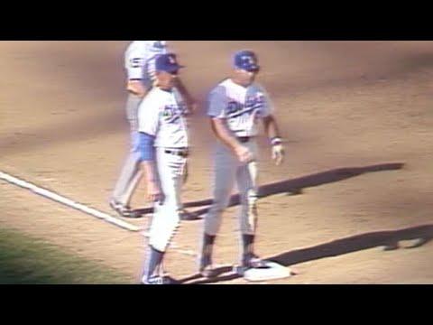 NLDS 1981 Gm5: Garvey triples to put Dodgers up, 4-0