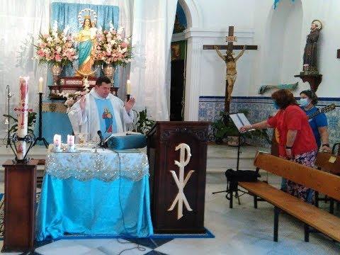 Misa Festividad María Auxiliadora (25 Mayo 2020) Pozo del Camino.