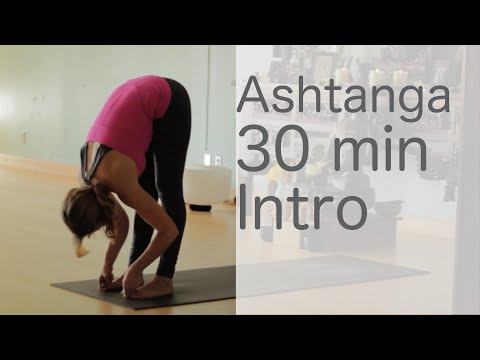 Yoga Body Workout: Free yoga class (Ashtanga 30 min intro class) with Lesley Fightmaster