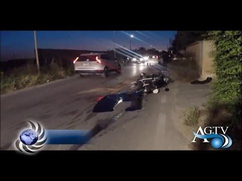 Incidente stradale in via Cavaleri Magazzeni ad Agrigento, ferito un motociclista NewsAgtv