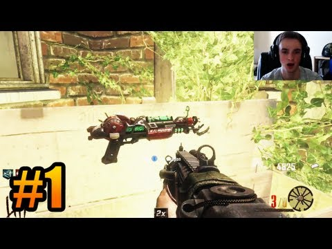 """IT BEGINS!"" – BURIED Zombies w/ Ali-A #1 – (Black Ops 2 Zombies Gameplay)"