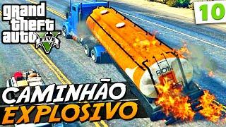 Série: GTA V - Grand Theft Auto V - Piloto de Fuga Episódio: 10 Playlist da Série: http://goo.gl/8uVA7M ➨ Vídeo Novo: Nissan Skyline no Atoleiro - http://you...