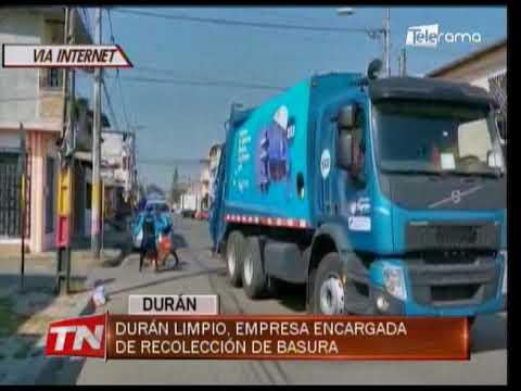 Durán Limpio, empresa encargada de recolección de basura