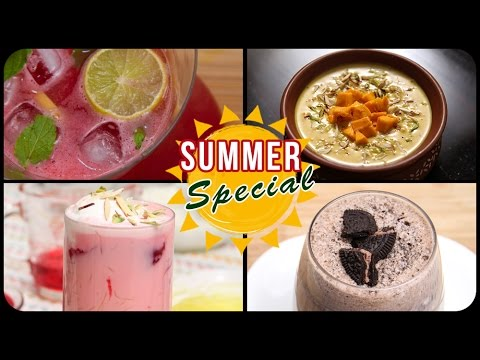 Summer Special Recipes | Summer Recipes Indian | Summer Special Drinks | Summer Compilation
