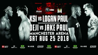 KSI VS. LOGAN PAUL [OFFICIAL WEIGH IN]