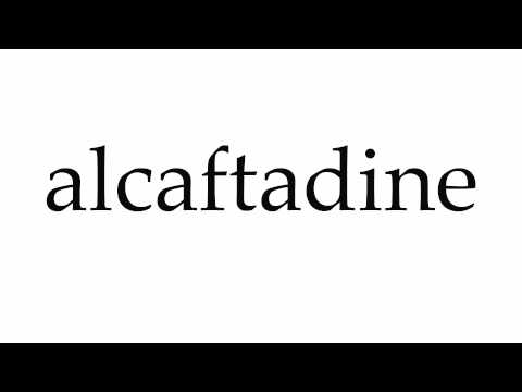 How to Pronounce alcaftadine