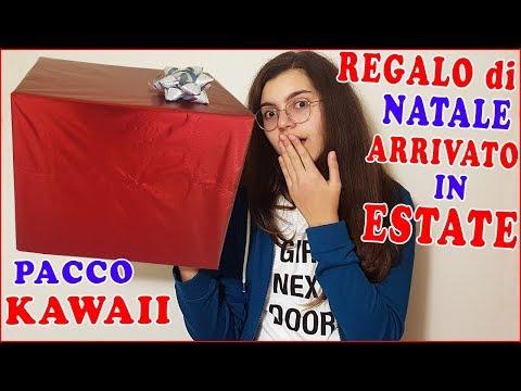 PACCO KAWAII Regalo di NATALE arrivato in ESTATE (by Giulia Guerra) (видео)