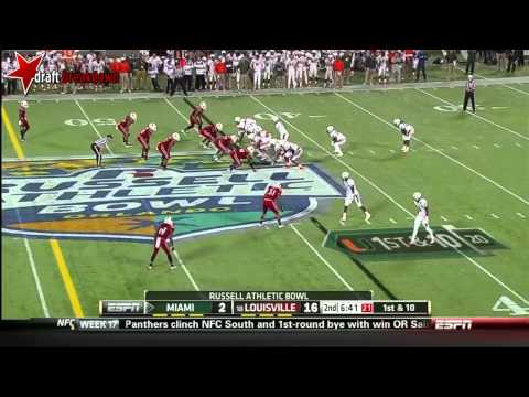 Marcus Smith vs Miami 2013 (Russell Athletic Bowl) video.
