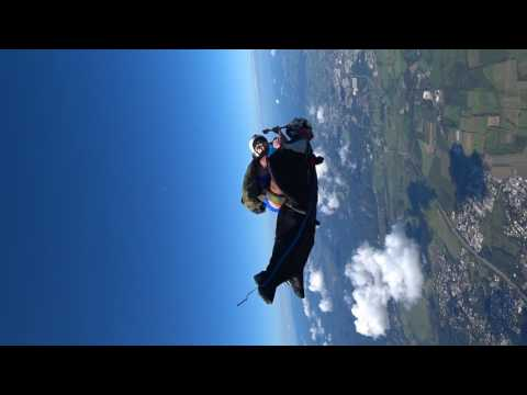 Riding a Wingsuit Like a Rodeo