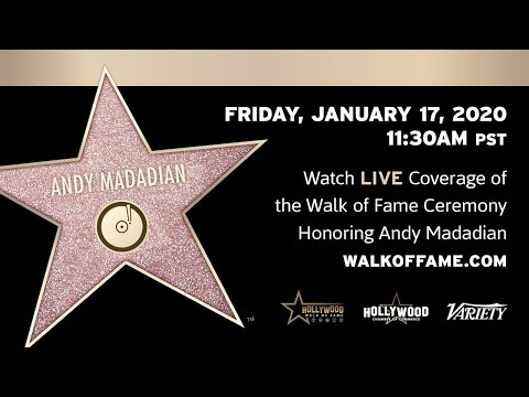 Andy Madadian Walk of Fame Ceremony