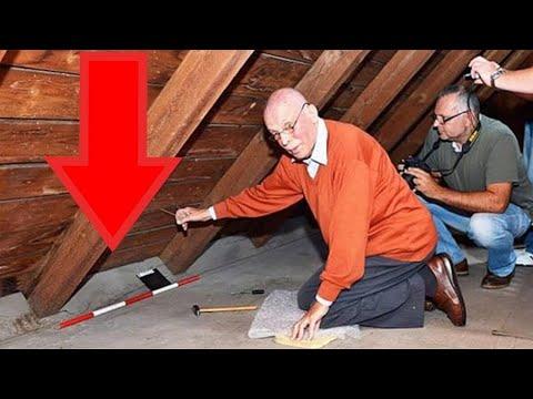 Dieser Mann durchsucht geheimes Dachbodenzimmer seines Vaters. Seine Entdeckung, wird Dich erstaunen