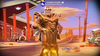 So I Unlocked Thanos Skin......