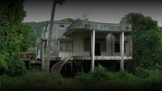 Urban Exploration - Abandoned Colonial Houses (Kep, Cambodia)