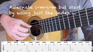 Download Lagu How to Play Malaguena | Classical Fingerstyle Guitar Lesson How to Play the Riff Free Tab Mp3