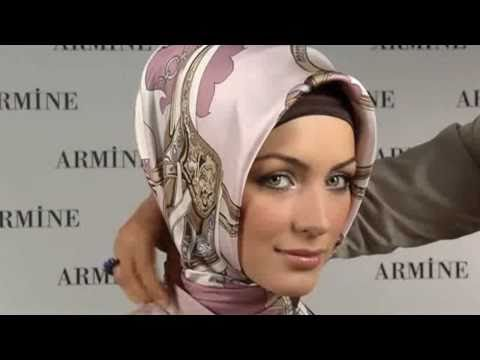 Hijab Fashion: Armine Eşarp Bağlama Modelleri # 1