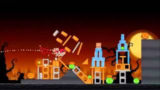 Angry Birds Seasons Walkthrough Trick or Treat 1-12