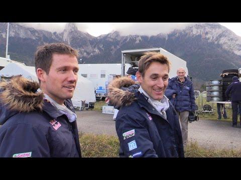Test Rallye Monte Carlo 2015 Sébastien Ogier Polo WRC