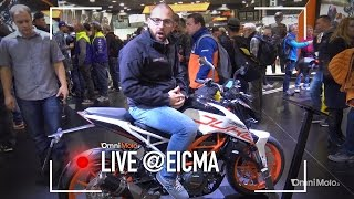 KTM 390 Duke a EICMA 2016  - Video Novità
