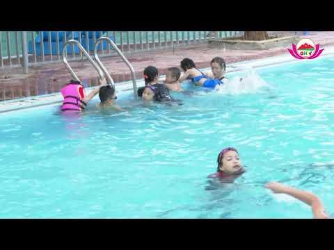Quỳ Hợp: Khai giảng lớp dạy bơi miễn phí cho 50 trẻ em có hoàn cảnh  đặc biệt  khó khăn