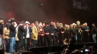 Amazing All-Star Finale at the Tribute to Randy Travis Event