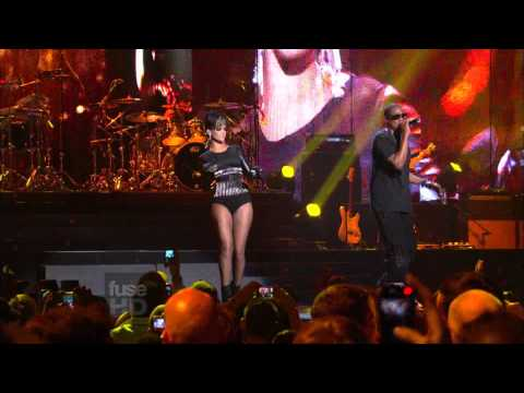 Jay-Z Feat. Rihanna & Kanye West - Run This Town (Live) HD-1080i