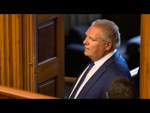 Former premiers back Doug Ford's use of notwithstanding clause | Power & Politics