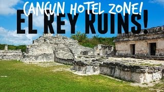 El Rey Ruins on the Cancun Hotel Zone!