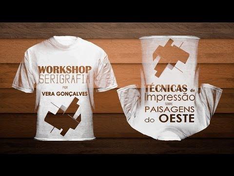 Workshop de técnicas de impressão sobre as paisagens do oeste - Hotel Rio do Prado