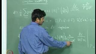 Mod-04 Lec-27 Compton Scattering I