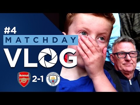 Video: Braydon and Chappy Vlog | Arsenal 2-1 Man City