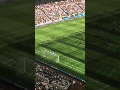 Dubravka save Newcastle United v Chelsea