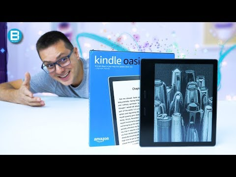 QUE EVOLUwsO HEIN! KINDLE OASIS 2! A AMAZON SABE o QUE FAZ!