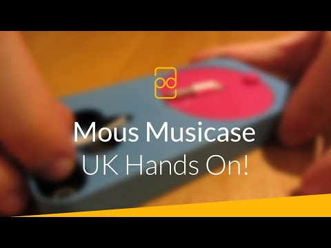 Mous Musicase for Apple iPhone 5 & 5s – Hands On! (видео)