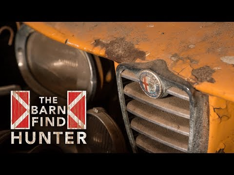 A slew of dusty Italian sports cars hidden in muscle car country  Barn Find Hunter - Ep. 30