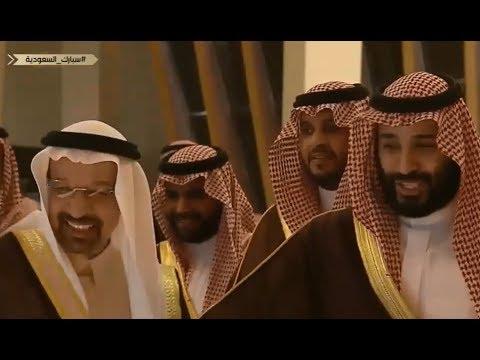 #فيديو : 😂🎥 ولي العهد محمد بن سلمان لاتشرح لي الوزير  ناشب في حلوقنا