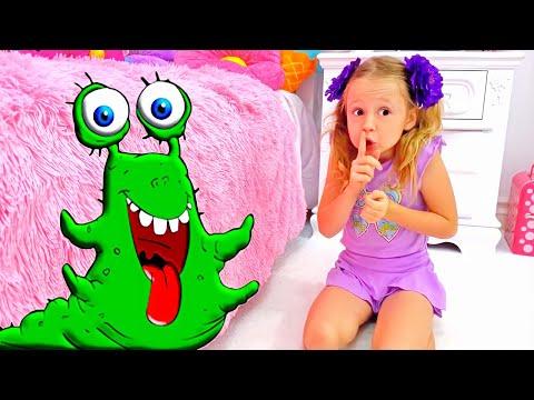Nastya e a história de um monstro debaixo da cama