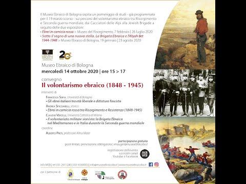 Il volontarismo ebraico (1848-1945)