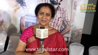 Lakshmy Ramakrishnan at Nerungi Vaa Muthamidathe Press Meet